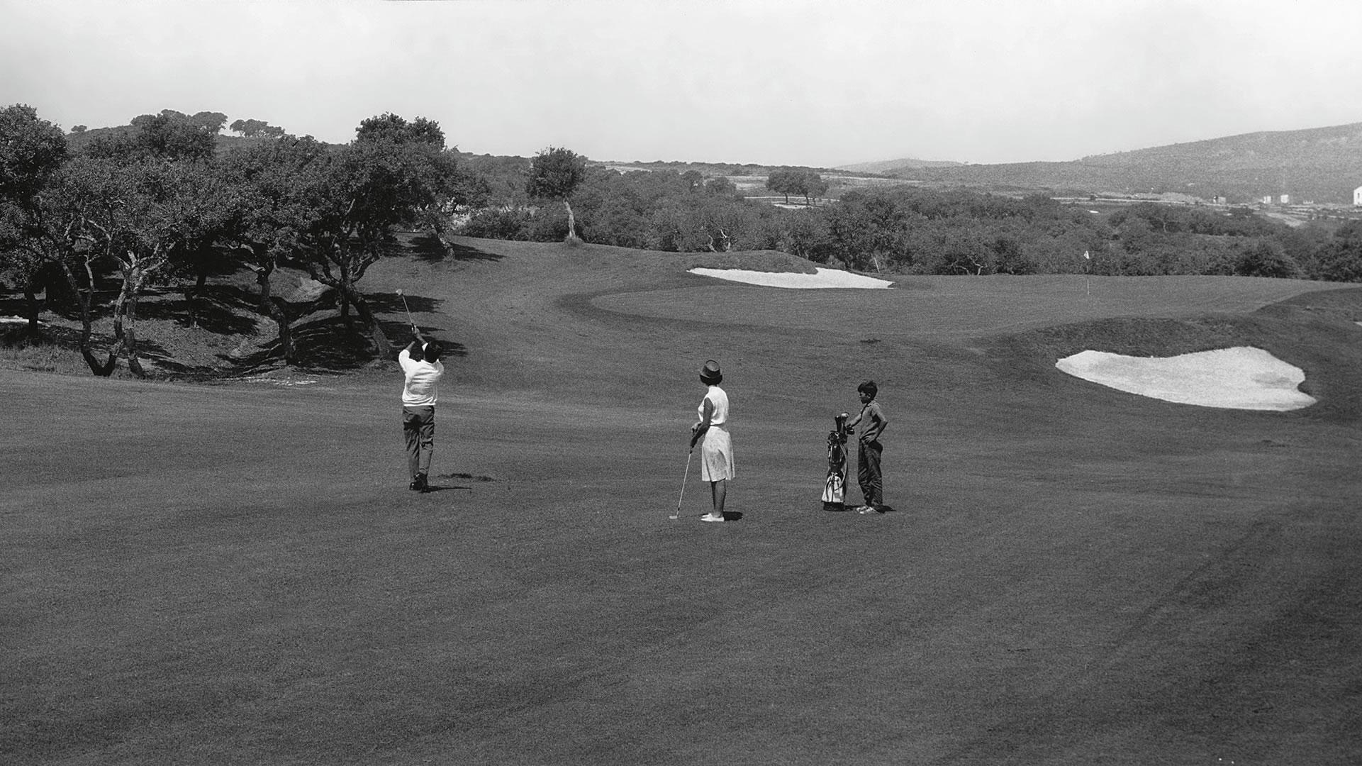5th green Sotogrande Golf
